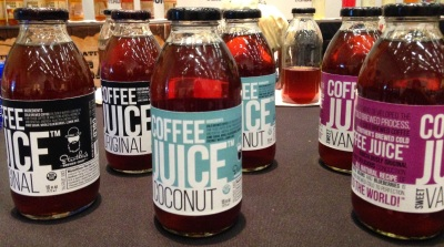 Coffee Juice bottles