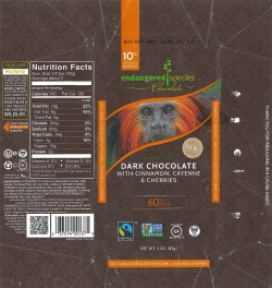 Endangered Species Chocolate wrapper (1)